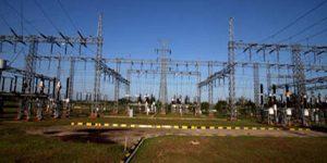 Jaringan distribusi listrik PLN.