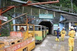 Tambang emas ANTM di Pongkor, Bogor.