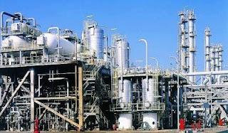 Salah satu kilang PTT Global Chemical di Thailand.