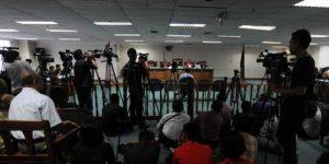 Persidangan kasus bioremediasi PT CPI.