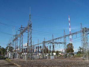 Jaringan listrik di wilayah Jakarta dan Tangerang.