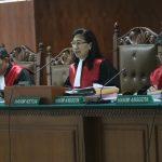 Majelis Hakim Pengadilan Tipikor dalam kasus bioremediasi Chevron.