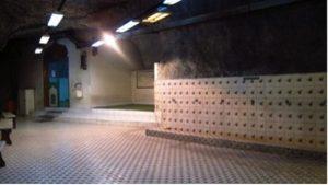 Fasilitas masjid di tambang bawah tanah Big Gossan.