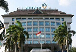 Gedung kantor ANTM di JL TB Simatupang, Jakarta Timur.