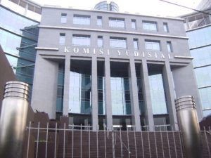 Gedung Kantor Komisi Yudisial di Jl Kramat Raya, Jakarta Pusat.