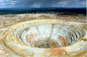 Tambang emas dan tembaga PT Newmont Nusa Tenggara.