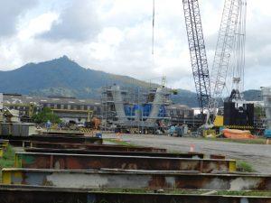 Salah satu kegiatan pembangunan infrastruktur energi dengan menerapkan teknologi IHI di Indonesia.