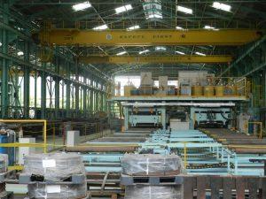 Lokasi pabrik PT Cilegon Fabricators (PTCF).