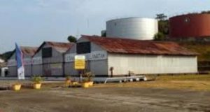 Terminal BBM Pulau Sambu.