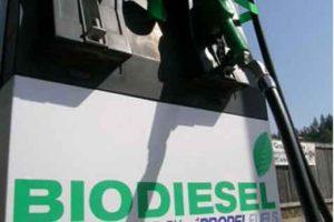 Minyak nabati (biofuel) jenis biodiesel.