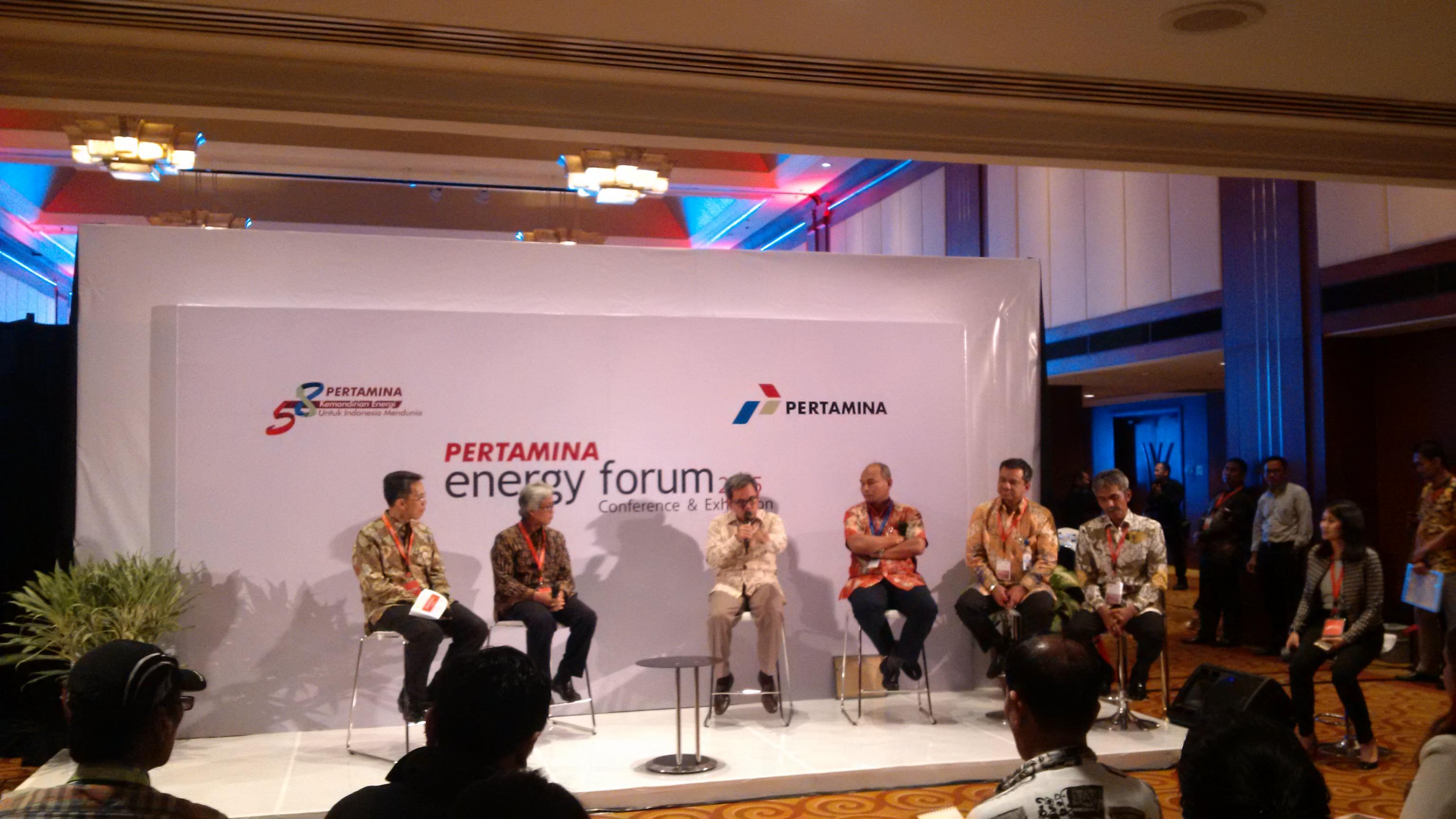 Sejumlah pembicara hadir dalam Pertamina Energy Forum 2015
