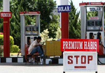Pemerintah Kaji Penghapusan Premium