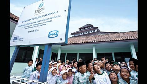 PGN Kirim Guru Untuk 4.000 Siswa di Daerah Terpencil