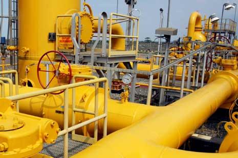 Sekitar 97% Pasokan Gas Diserap Industri