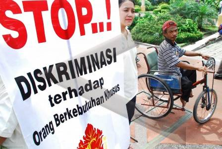 770.000 Penderita Difable Indonesia Timur Diberi Kesempatan Berkarya