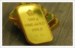 Penurunan dolar AS pengaruhi harga emas