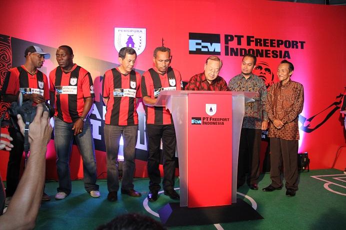 Freeport  Sponsori Mutiara Hitam Untuk Dua Musim Kompetisi Sekaligus