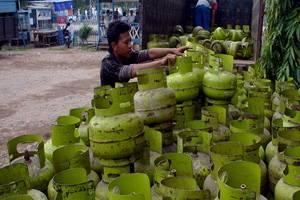 Pemerintah dan Pertamina Akui Sulit Atasi Perbedaan Harga LPG Bersubsidi