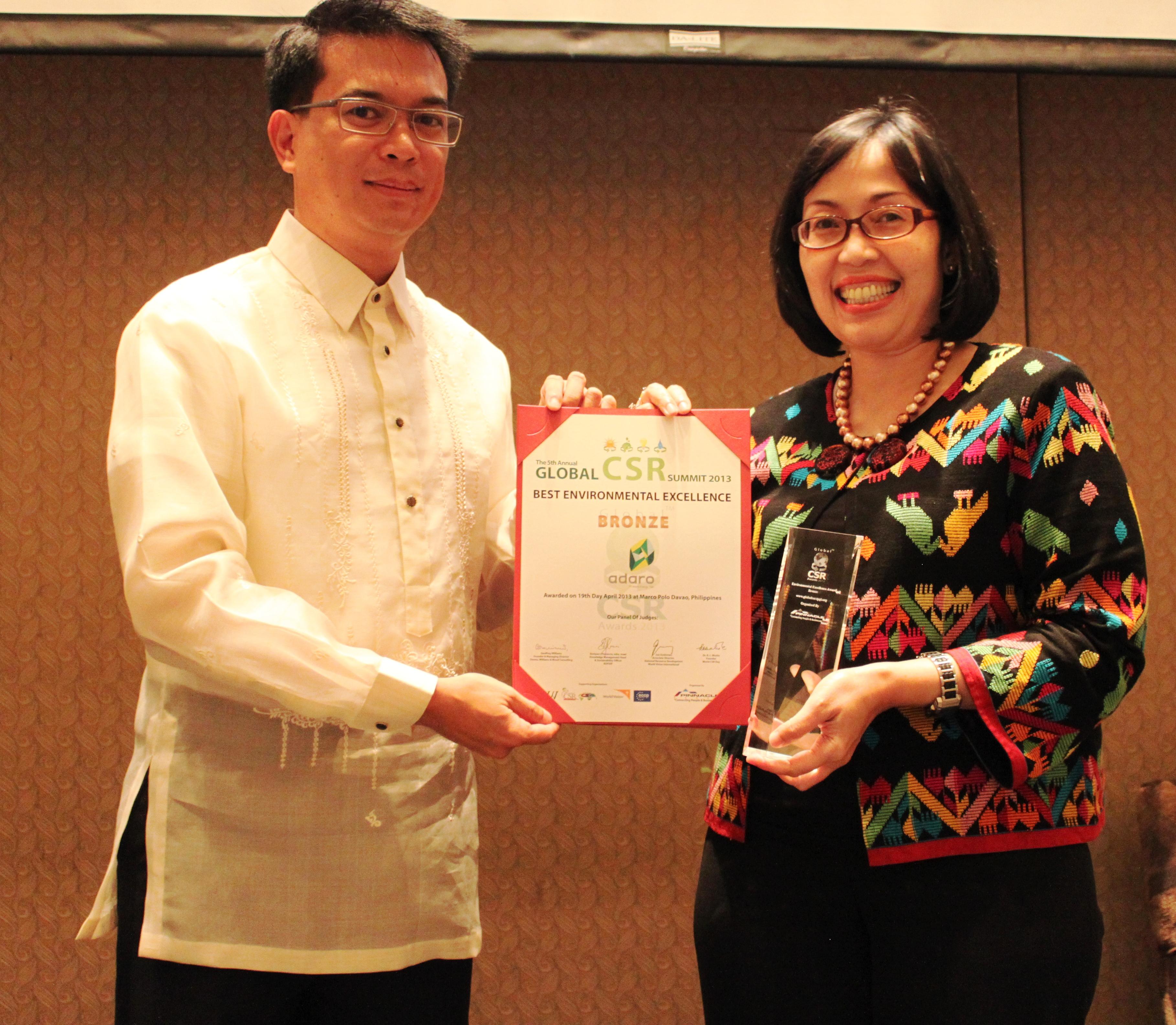 Berkat Air Adaro Raih Global CSR Award