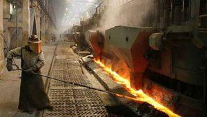 Aktivitas di smelter pengolahan nikel.