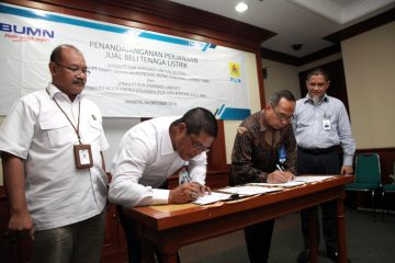 PPA Ditandatangani, Dua Pembangkit EBT akan Kurangi Operasional PLTD di Kalimantan Tengah dan NTT