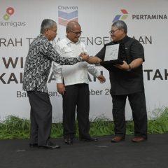 Pertamina Resmi Ambil Alih  Pengelolaan East Kalimantan-Attaka