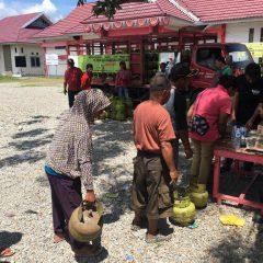 Normalisasi Pasokan, Pertamina Operasi Pasar LPG di 27 Titik Wilayah Palu, Sigi dan Donggala