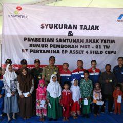 Pertamina EP Cepu Field Tajak Sumur NKT-01TW