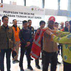PHE Terjunkan 31 Relawan Bantu Korban Tsunami Selat Sunda