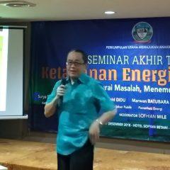 Kepentingan Politik Musuh Utama Mewujudkan Ketahanan Energi