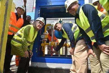 Gas Pipa Mengalir ke 5.043 Sambungan Rumah Tangga di Serang