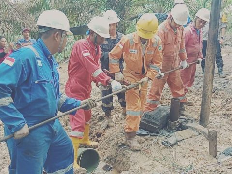 Pertamina EP Tutup 25 Sumur Minyak Ilegal di Batanghari