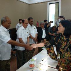 Tiga Kontrak Blok Eksplorasi Ditandatangani, Komitmen Kerja Pasti US$ 10,95 Juta