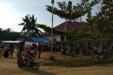 Penerangan Tenaga Surya Beroperasi, Akses Jalan Bukit Lingkar Tak Lagi Gelap Gulita