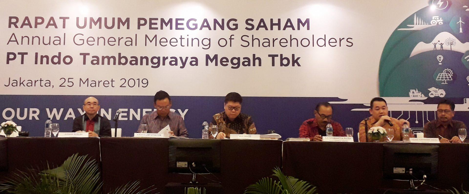 Indo Tambangraya Allocates 99.8% Net Profit for Dividend