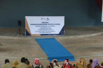 Agincourt Sosialisasikan Beasiswa Martabe Prestasi
