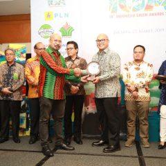 Terbaik dalam Pelaksanaan CSR, Pertamina EP Raih The Best Indonesia Green Award 2019