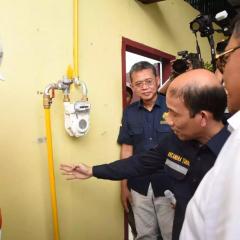 Jaringan Gas Jangkau 5.560 Rumah Tangga di Deli Serdang