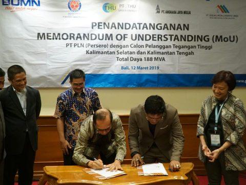 PLN Sediakan Daya 188 Juta VA untuk Calon Pelanggan Tegangan Tinggi di Kalimantan