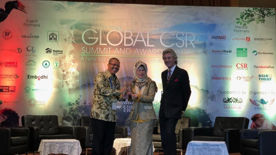 PHE Boyong Tiga Penghargaan di Ajang 11th Annual Global CSR Award