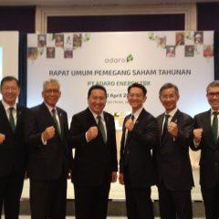 Adaro Energy Bagi Dividen US$200 Juta, 47,8% dari Laba Bersih 2018