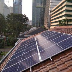 AEON Mall Jadi Mall Pertama di Indonesia Operasikan PLTS Atap