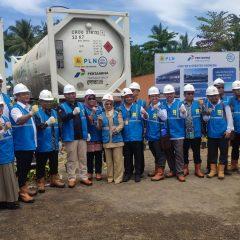Pembangkit Gas Mini Beroperasi di Ternate