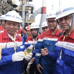 Pertamina Mulai Uji Coba Produksi Gasoil Berbahan CPO di Kilang Dumai
