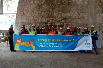 PGN Pasok Gas ke Industri Kapur