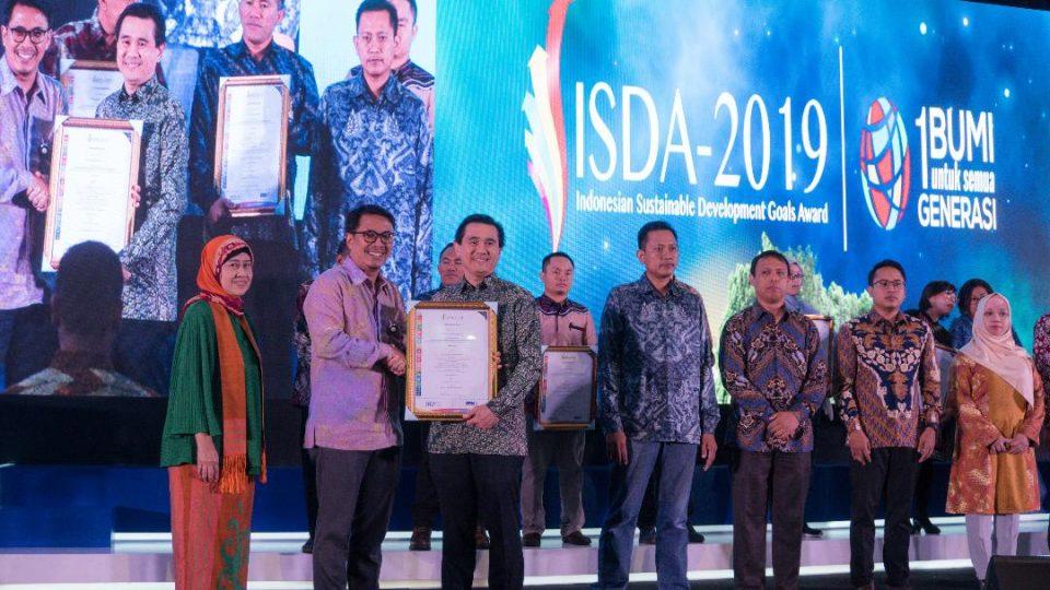 Dian Swastatika Raih Penghargaan Emas pada ISDA 2019 Kategori SDGs-8