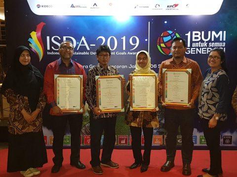 Pertamina EP Raih Empat Penghargaan di Ajang ISDA 2019