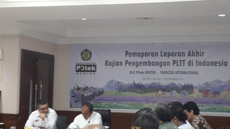 Pemerintah Nyatakan Pembangkit Thorium ThorCon Bisa Segera Dibangun
