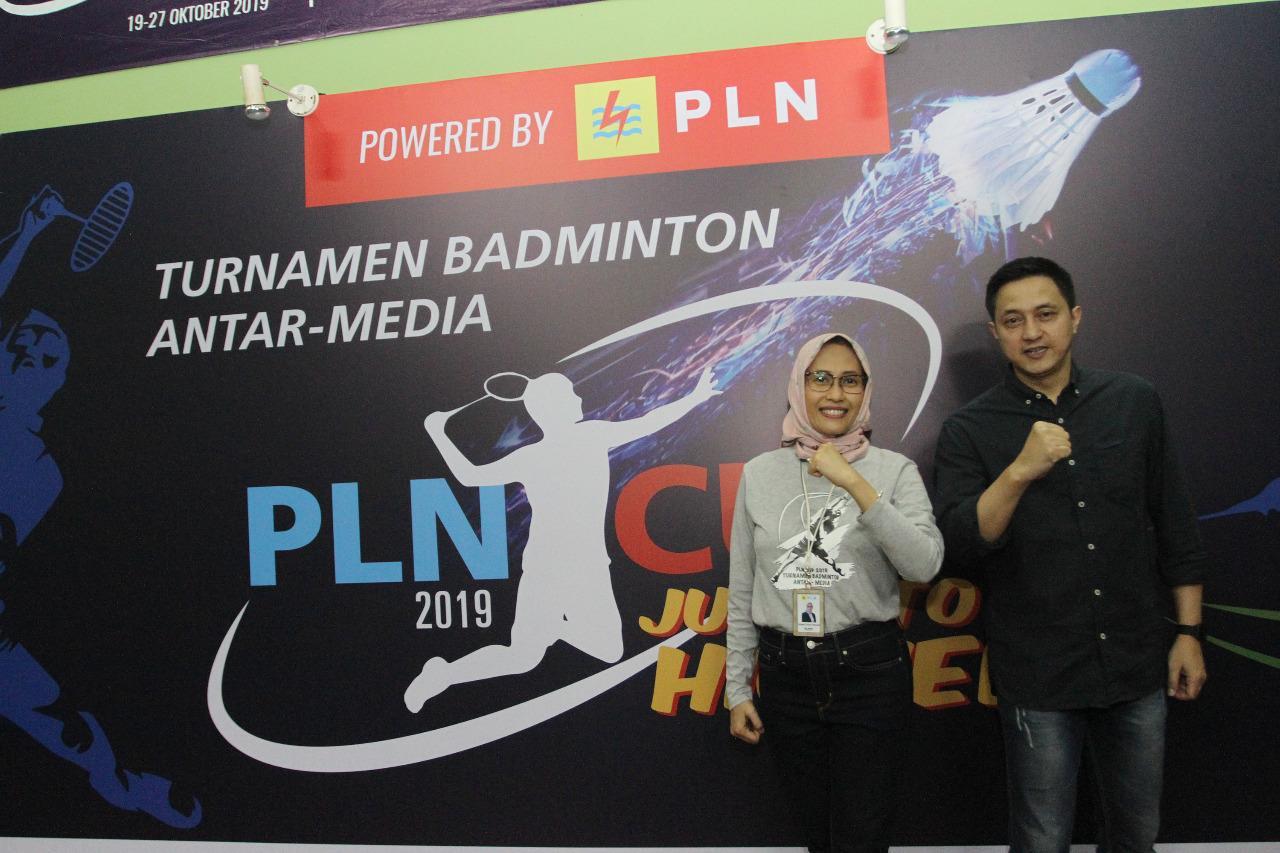 28 Media Ikuti Turnamen Badminton PLN Cup 2019