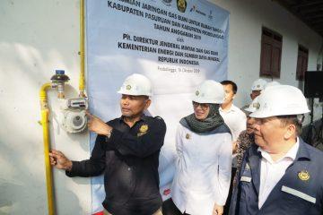 Pembangunan 8.150 Sambungan Gas Rumah Tangga Probolinggo dan Pasuruan Rampung